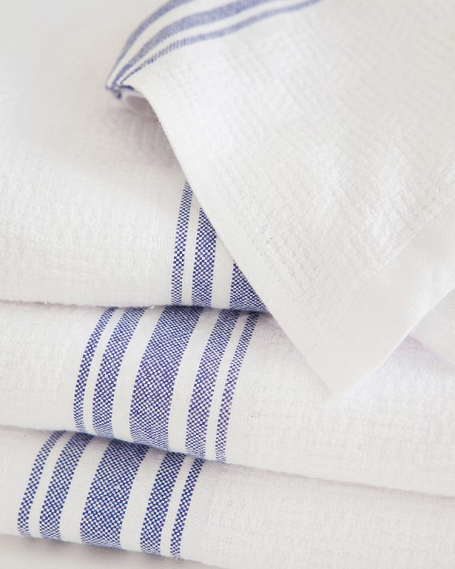 Mungo Willow Weave in all blue colourway. 100% natural, made in SA