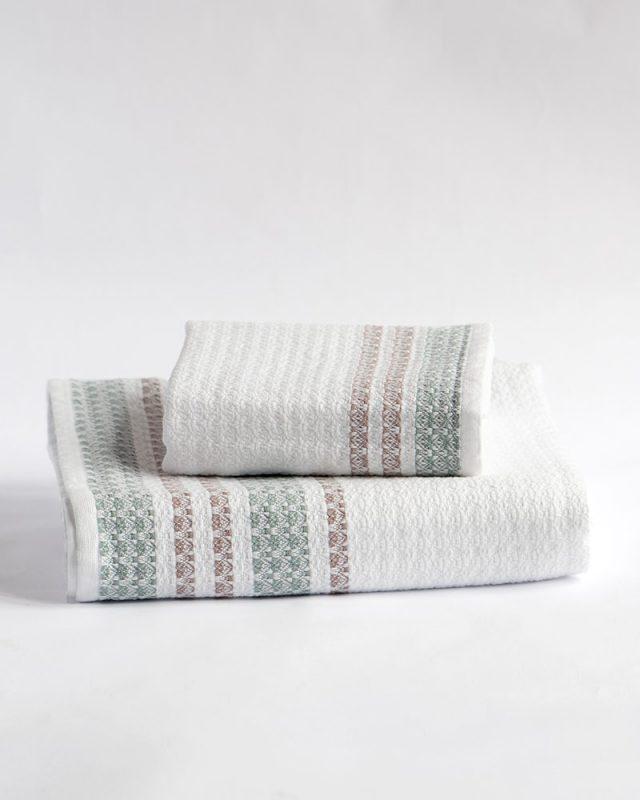 Mungo Aegean Towel - a GOTS-certified 100% organic bath sheet